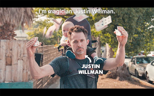 Justin Willman Magic For Humans video  thumb