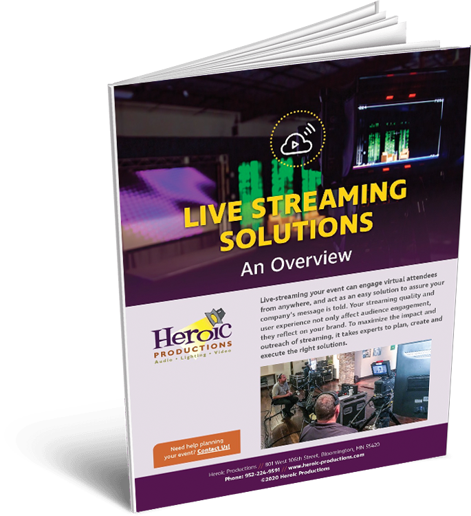 Live Streaming Solutions Graphic